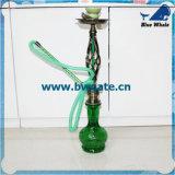 Bw1-055はホウケイ酸塩の(2ホース)水ぎせるShisha/の明確なガラス水ぎせるを卸し売りする