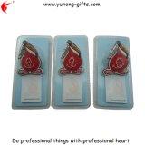Promoción imán de nevera con el bloc de notas Pack con tarjeta de ampolla (YH-FM105)