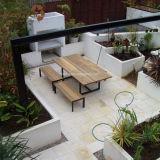 판매를 위한 옥외 튼튼한 다중 크기 WPC 정원 가구 벤치
