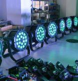 경쟁가격 4in1 RGBW 18PCS 알루미늄 벽 세탁기 옥외 빛