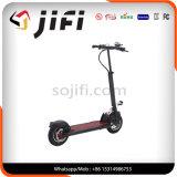 Scooter personnel de transport électrique avec des graphiques