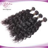 Hochwertige unverarbeitete natürliche Wellen-peruanisches Jungfrau Remy Haar