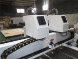 CNC 조판공을 새기는 2개의 스핀들 절단 조각