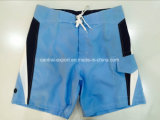 Oeko-Tex Flat Waist Polyester Contract Couleur Men Board Short Swimwear