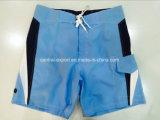 Oeko-Tex flache Taillen-Polyester-Vertrags-Farben-Mann-Vorstand-Kurzschluss-Badebekleidung