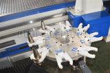 2050 آليّة ناقل دائريّ أداة مبدّل [كنك] يتذبذب سكّين زورق بناء عمليّة قطع مسحاج تخديد آلة لأنّ يغضّن - لوح