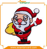 Het Flard van het Borduurwerk van het Ontwerp van Kerstmis met Decoratie