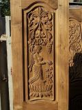 carpintería de madera 4*8feet 1325 que hace publicidad del ranurador del CNC con el vector del vacío