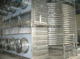 ゆで団子の螺線形の深い急速冷凍装置