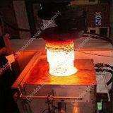 Het Verwarmen van de hoge Frequentie Gietende Machine HF-80kVA van de Inductie van het Ijzer van het Koper de Zilveren