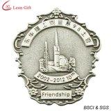 Distintivo d'argento antico del metallo del ricordo 3D (LM1040)