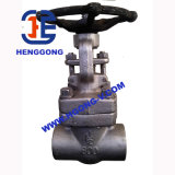API/DIN 기름은 304를 용접했다 스테인리스 게이트 밸브를 위조했다