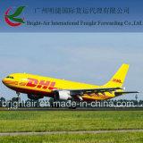 La distribution exprès de DHL de courrier international de poste de Chine vers le Bangladesh