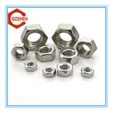 Noix Hex d'acier inoxydable de noix Hex de Ss304 DIN934