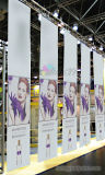 Drapeau polychrome de coup de plafond de PVC Vinly d'impression pour Surpermarket