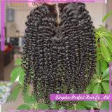 Chiusura dei capelli della chiusura del merletto dei capelli umani di 100% (5*5)