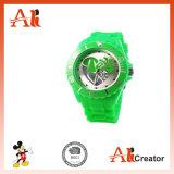 さまざまなスポーツのシリコーンの腕時計のシリコーンのゼリーの腕時計のシリコーンの腕時計