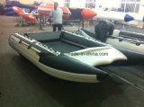 Liya 3.35m Geschwindigkeit-Yacht-Katamaran-aufblasbares Boot für Verkauf