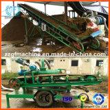 Máquina de secagem do fertilizante do estrume do porco