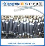 Flexibler hydraulischer Schlauch für Ladevorrichtung, hydraulische Schlauch-Baugruppe mit Befestigung