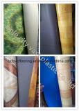 다채로운 PVC 비닐 마루 롤, PVC 리놀륨 바닥 깔개는, 저항하는 PVC 비닐 마루를 착용한다