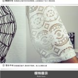 t-셔츠를 인쇄해 New Design Lace MID Sleeve 숙녀
