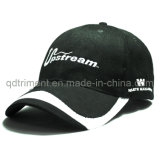 Casquillo de golf construido del béisbol del deporte del bordado de la tela cruzada del algodón (TMB6234)