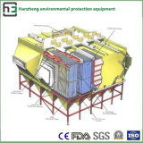 Breiter Platz des seitlichen elektrostatischen Sammler-Industriellen Geräts