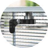 Tela ao ar livre transparentes/do vidro/indicador diodo emissor de luz de indicador video/painel/sinal/parede internos