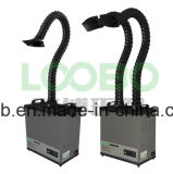 One Extraction Arm를 가진 디지털 Soldering Laser Cutting Fume Extractor