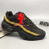 (С коробкой) военно-морской флот Maxes валика дешевых людей идущих ботинок Max95 людей ретро 95 тапок гуляя ботинок Chaussure 95s спортов Og высокомарочных мы 7-13