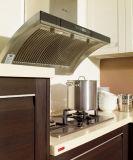 Armadio da cucina di legno della lacca del PVC di nuovo disegno fatto in Cina (zc-023)