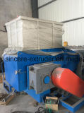 PEの管のシュレッダーの粉砕機が付いているプラスチック管の放出ライン