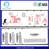 Карточка PVC Keytag комбинации