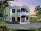 2 de verdieping prefabriceerde Mooie Villa voor Verkoop