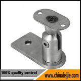 201/304/316 corchete de la barandilla del acero inoxidable para el balaustre