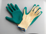 Polyester Shell Latex Coated Glove sécurité de travail (L1101)