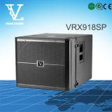 영구 자석을%s 가진 Vrx918sp 18inch 액티브한 오디오 스피커