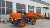 安い中国4X4 2トンの小型サイトのダンプトラック