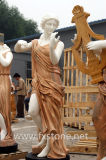 결합 대리석 돌 조각품 삽화