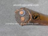 Кабель концентрическое алюминиевое надземное 3*6AWG XLPE 0.6/1kv