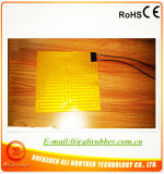 calefator flexível elétrico de 140*140mm 12V 2.5W Polyimide