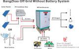 Aucun inverseur de stand d'installation de batterie de recul de batterie seul pour le chargement 6kw