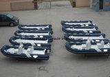Pontón inflables del barco de pesca del bote salvavidas de Liya los 4m