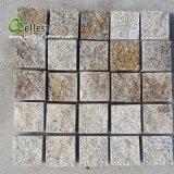 Granito naturale che pavimenta la pietra di pietra della via della pietra del giardino della pietra per lastricati della strada privata del cubo