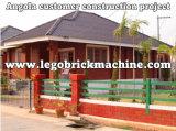 Máquina de bloqueio do tijolo do solo de argila de Qmr2-40 Lego Maunal