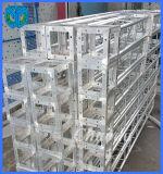 fiera commerciale Display Exhibit Booth Truss di 200*200mm Aluminum Circular Tube per la sala d'esposizione