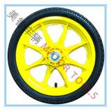 rueda de bicicleta de goma neumática de la rueda 14inch