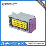 Conectores elétricos automáticos de 24 fios Suporte de fusível ECU impermeável