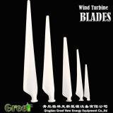 Lâminas horizontais 3PCS Baldes do vento de FRP para a turbina de vento